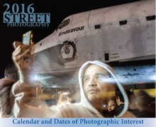 "Thumbnail image for cover of the ""2016 Street Photography Calendar & Dates of Photographic Interest"""