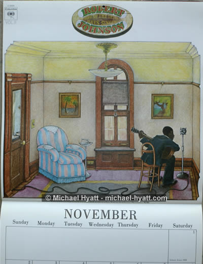 Second sample from 1986 Classic Blues calendar