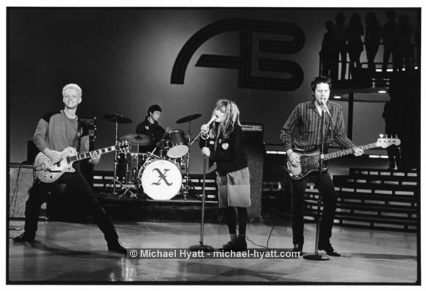 X the Band on American Bandstand (Burbank, 1982)