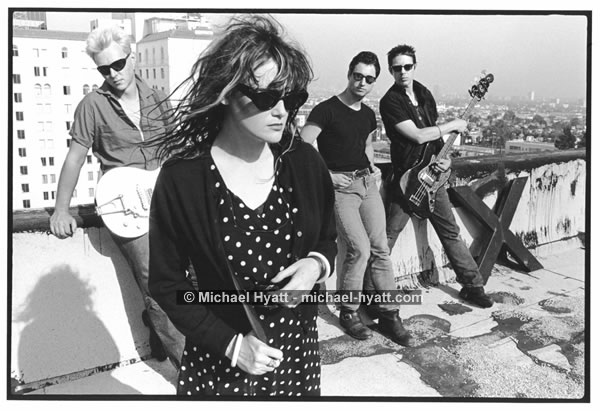X - Billy, Exene, DJ & John (Los Angeles, 1981)