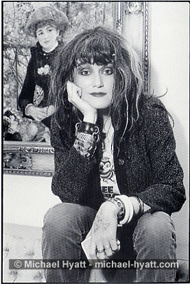 Exene and Renoir's 'Two Sisters' - San Francisco - 1981