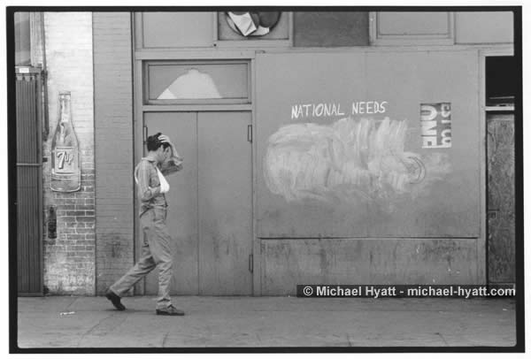 Man Approaching 5th & Wall Street – Los Angeles 1972