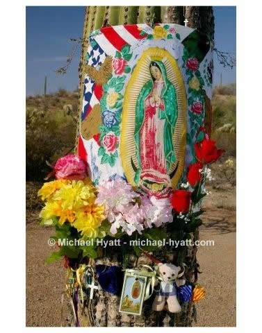 Virgin of Guadalupe Shrine (Quijotoa Mountains, 2007)